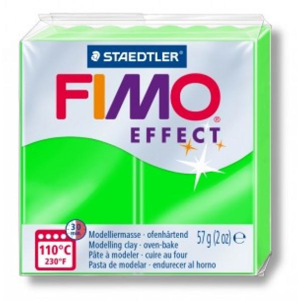 Polimērmāls FIMO Neona zaļš 501