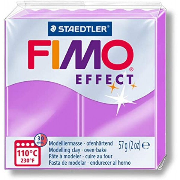 Polimērmāls FIMO Neona violets 601