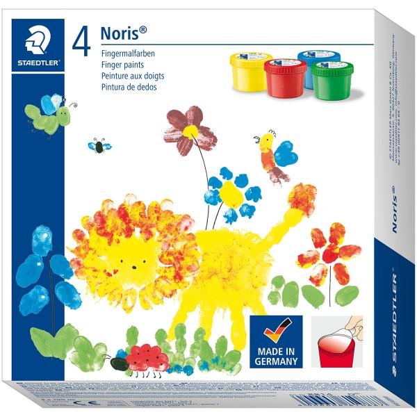 Pirksiņkrāsas Staedtler Noris 4 krāsas x 100 ml
