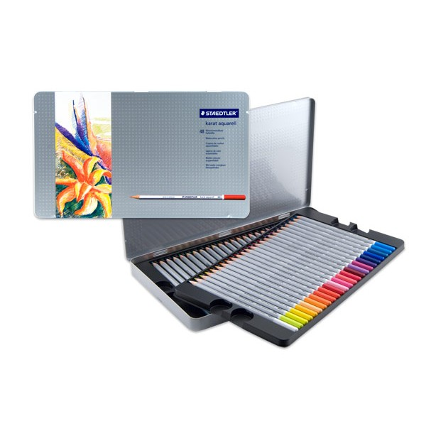 Akvareļzīmuļi Karat Aquarell , 48 krāsas