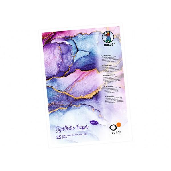Sintētiskā papīra albums Ursus Yupo  A4 ; 85 g/m 25 lapas