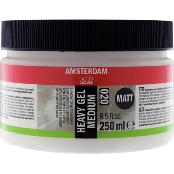 Videji biezs gēlveida mēdijs Amsterdam 020, 250ml Matēts