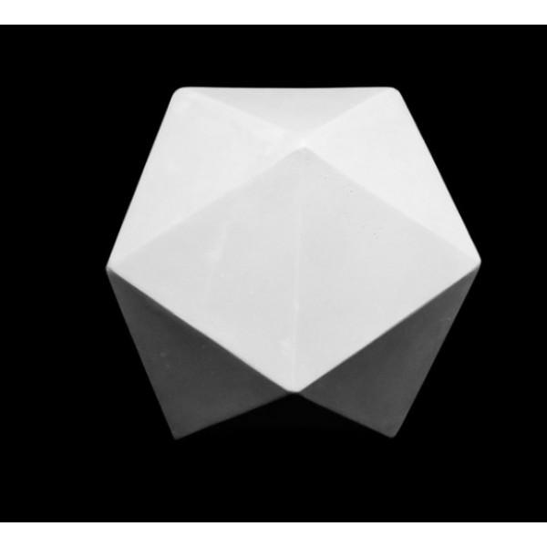 Ģipša figūra- ikosaeder