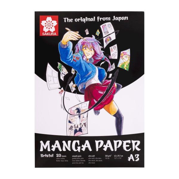 Albums Sakura  Manga Paper Bristol A3