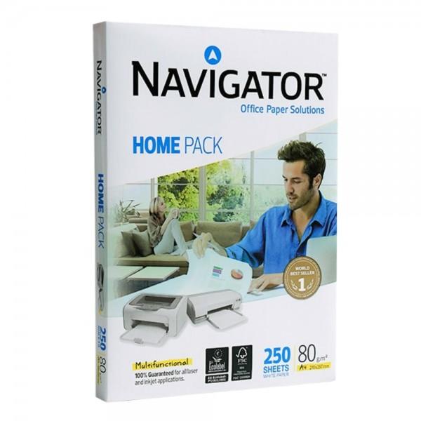 Biroja papīrs Navigator Home Pack 250 loksnes  80g/m²