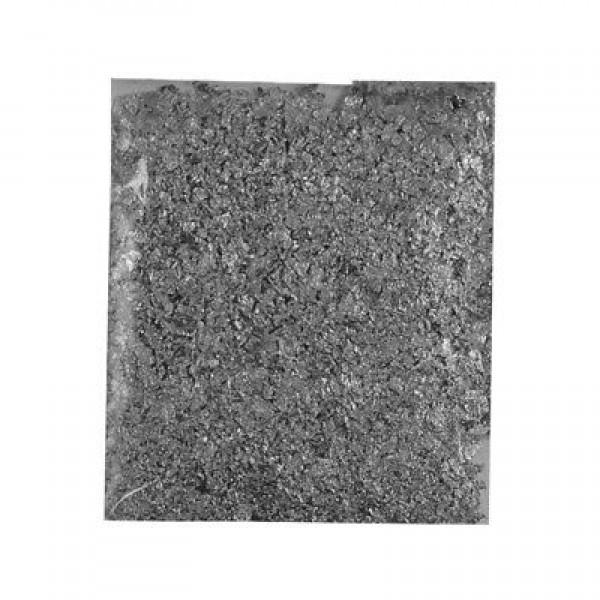Metāla folijas ArtDeco, sasmalcinātas sudraba