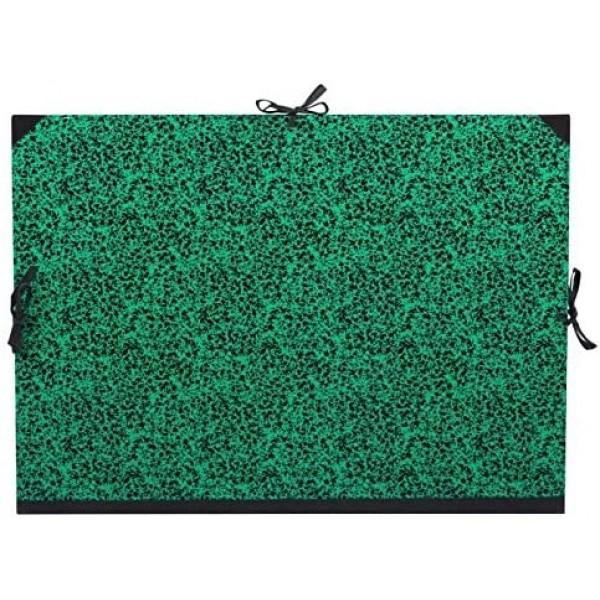 Kartona Mape Lefranc&Bourgeois Studio 37x52cm melna/zaļa