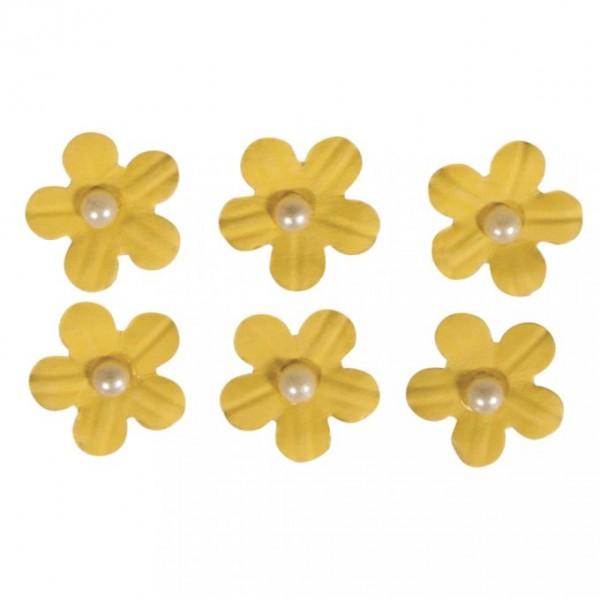 Pašlīmējošie ziedi; 20 gab; dzelteni