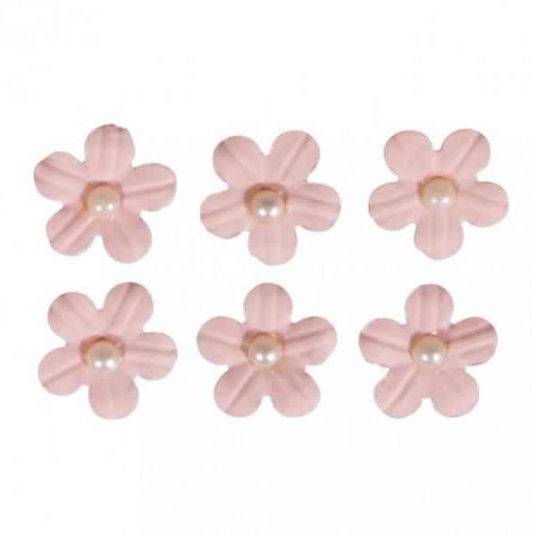 Pašlīmējošie ziedi; 20 gab; rozā