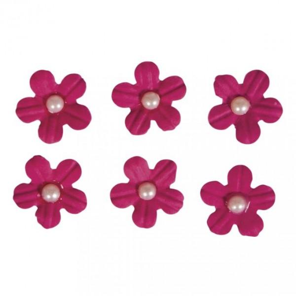 Pašlīmējošie ziedi; 20 gab; madženta