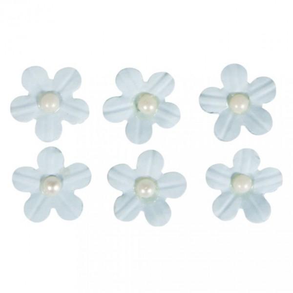Pašlīmējošie ziedi; 20 gab; gaiši zili