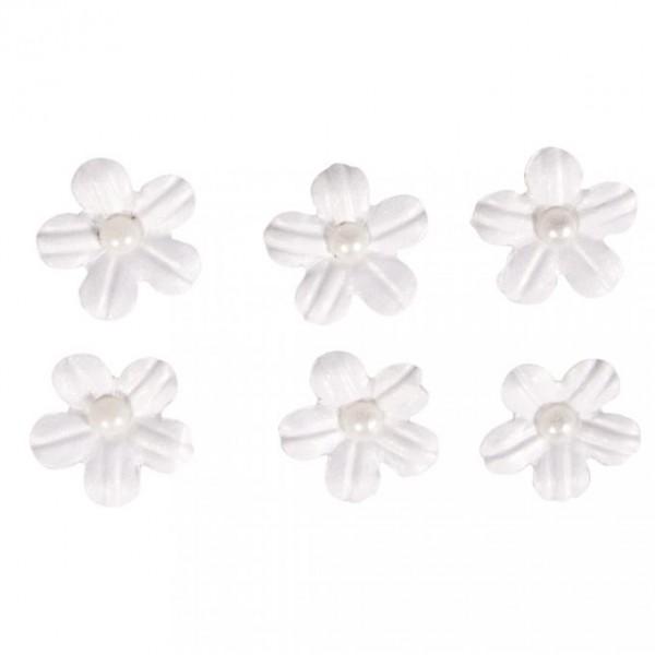 Pašlīmējošie ziedi; 20 gab; balti