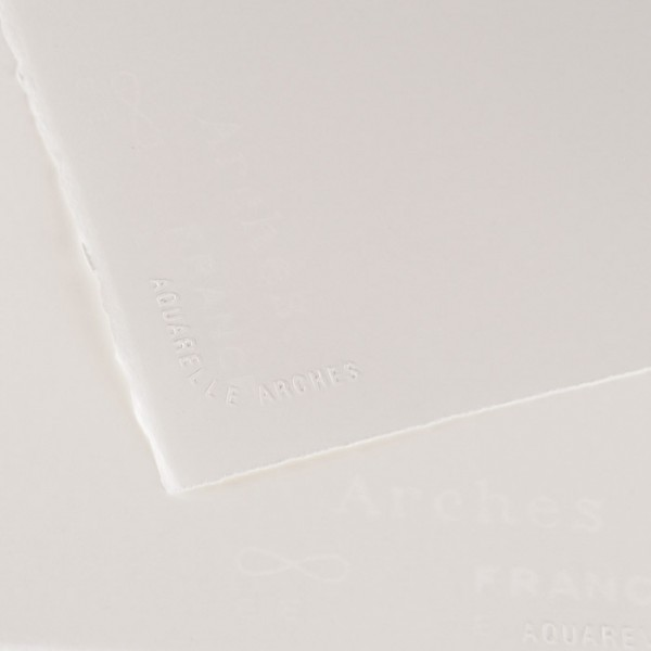 Akvareļpapīrs ARCHES 56x76cm, 300 g/m3 gluds (hot pressed)