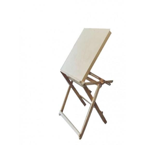 Zīmēšanas galdiņš ar maināmu augstumu