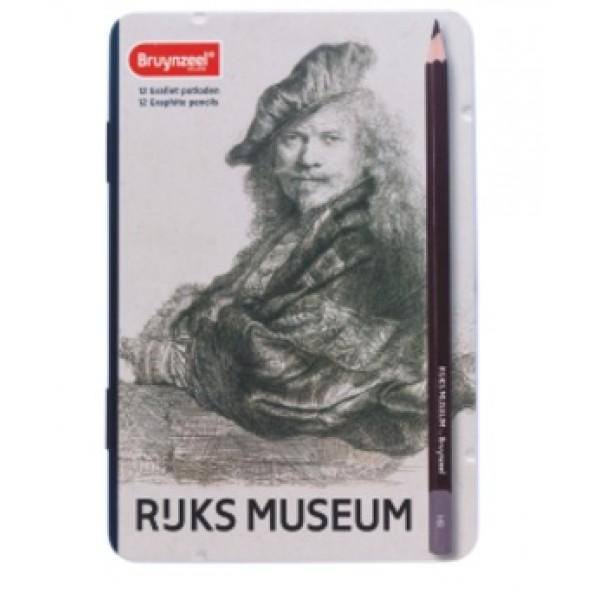 """Grafīta zīmuļu kompklekts """"Rembranta pašportrets"""", 2H-9B"""