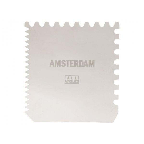 Skrāpis Amsterdam, 10x10cm