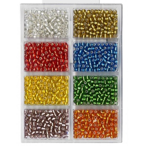 Stikla pērlītes spīdīgas MEYCO 132-25, 60g