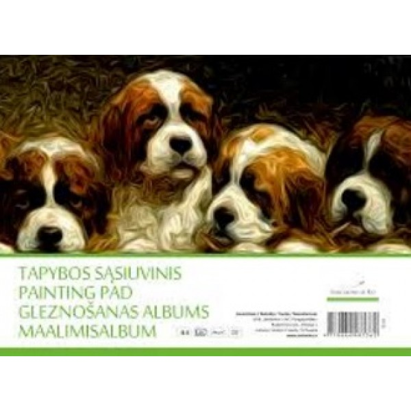 Gleznošanas albums TS-10 A4