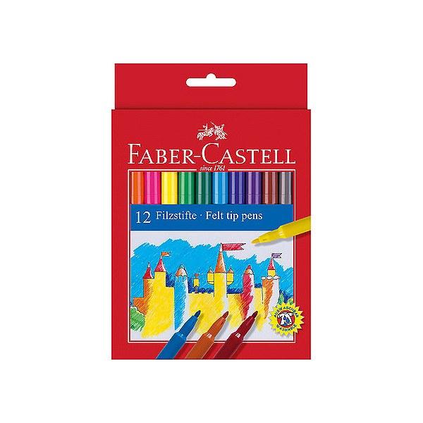"Flomasteri ""Felt tip pens"" 12 krāsas"