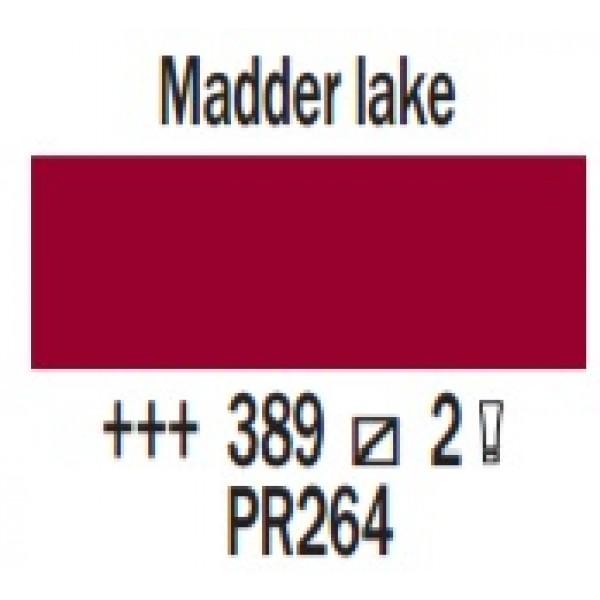COBRA ūdenī šķīstoša eļļas krāsa 40ml, kraplaka sarkans 389