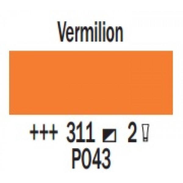 COBRA ūdenī šķīstoša eļļas krāsa 40ml, Vermilion 311