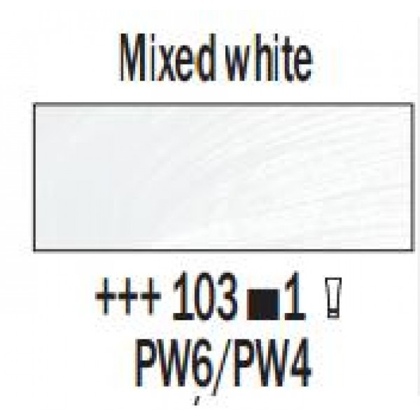 Eļļas krāsa Rembrandt, 40ml - Mixed white 103