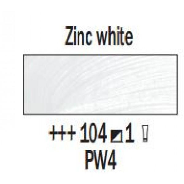 Eļļas krāsa Rembrandt, 40ml - Zinc white 104