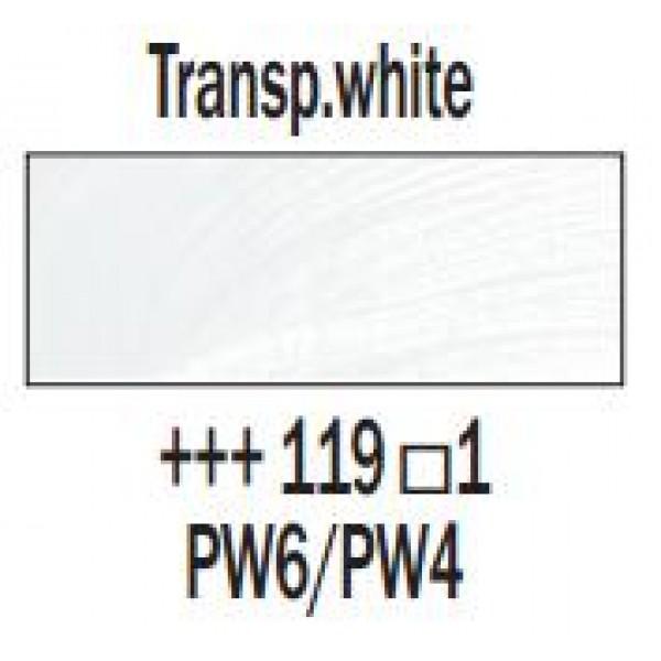 Eļļas krāsa Rembrandt, 40ml - Transp.white 119