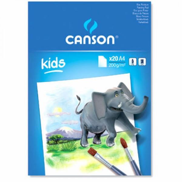 Zīmēšanas albums Canson - Kids A4