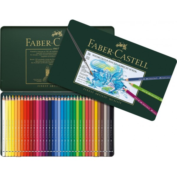 Akvareļzīmuļi Faber-Castell - ''Albrecht Durer'', 12 krāsas