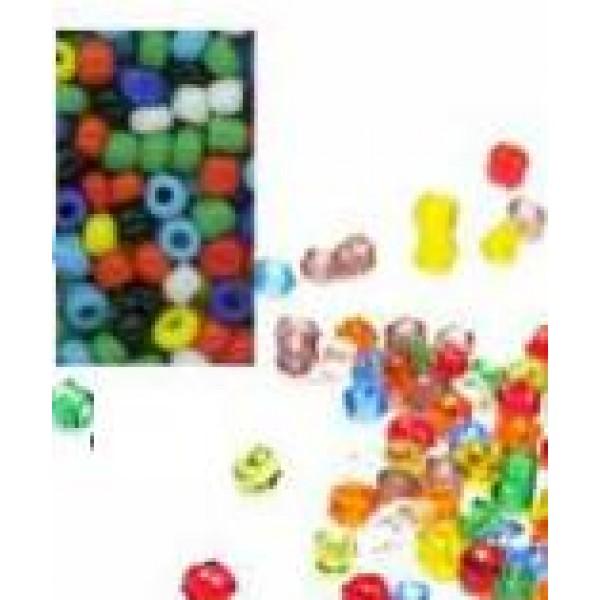 Smalkas stikla pērlītes dažādās krāsās 20g
