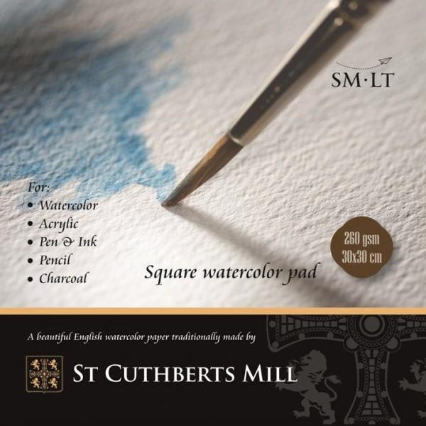 Akvareļu albums  ST CUTHBERTS MILL kvadrāts