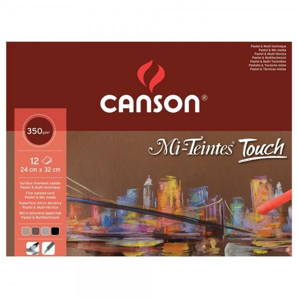 Pasteļu papīra albums  Mi-Teintes - Touch, A3