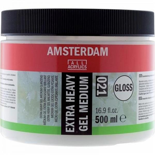 Biezs gēlveida mēdijs Amsterdam 021, 250ml Glancēts