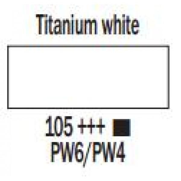 Art Creation eļļas krāsa 200ml  - Titanium white 105