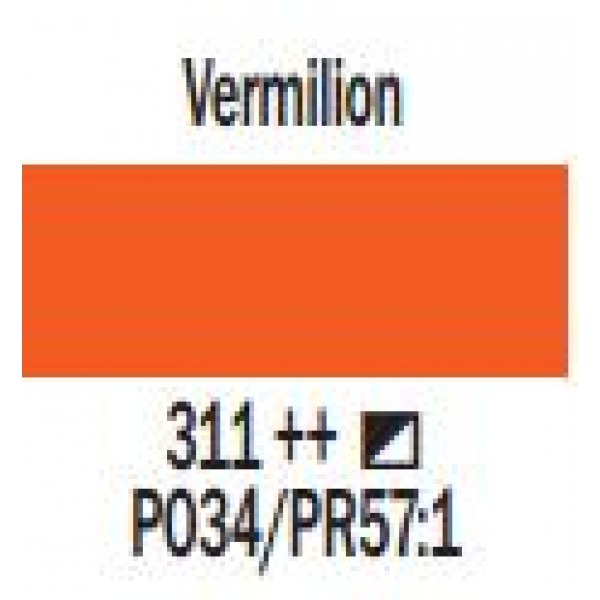 Art Creation eļļas krāsa 200ml  - Vermilion 311
