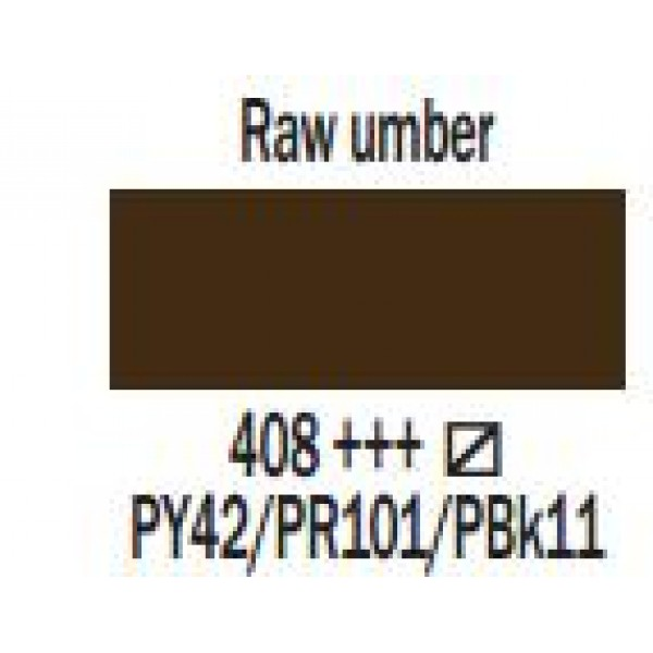 Art Creation eļļas krāsa 200ml  - Raw umber 408
