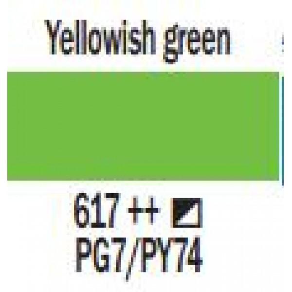 Art Creation eļļas krāsa 200ml  - Yellowish green 617