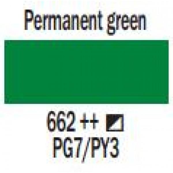 Art Creation eļļas krāsa 200ml  - Permanent green 662