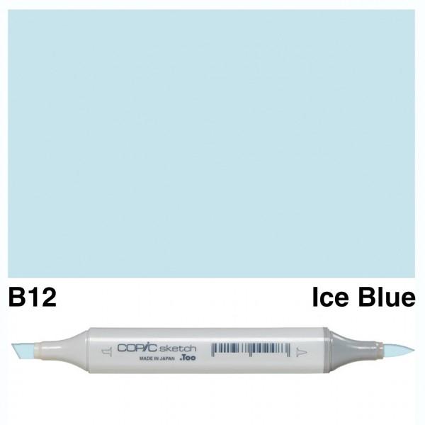 Alkohola bāzes marķieris Copic Sketch- B12