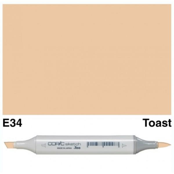 Alkohola bāzes marķieris Copic Sketch- E34