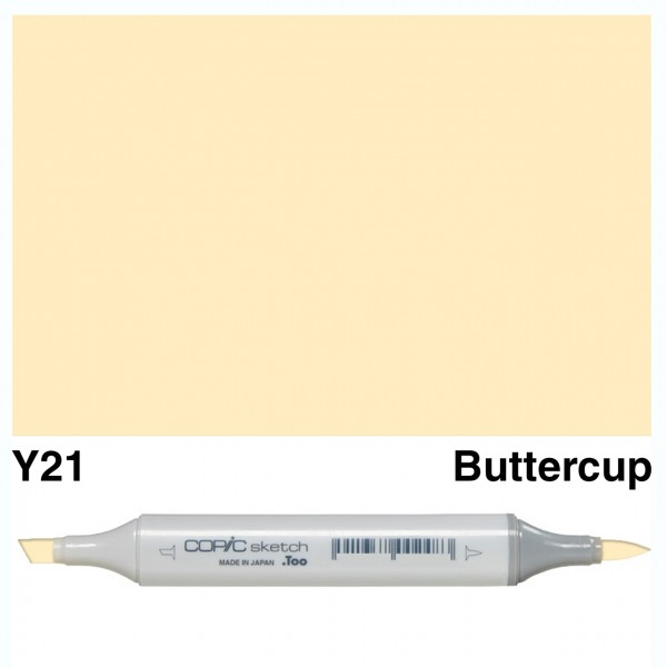Alkohola bāzes marķieris Copic Sketch- Y21