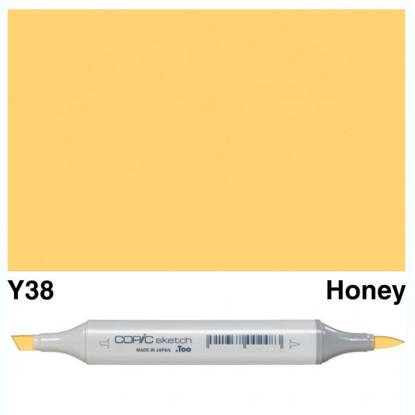 Alkohola bāzes marķieris Copic Sketch- Y38