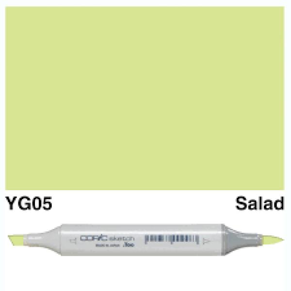 Alkohola bāzes marķieris Copic Sketch- YG05