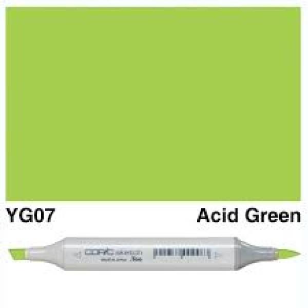Alkohola bāzes marķieris Copic Sketch- YG07
