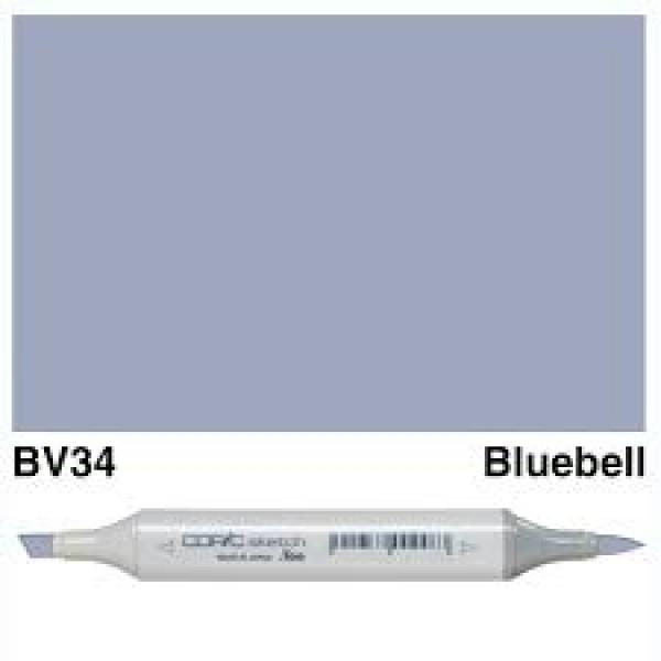 Alkohola bāzes marķieris Copic Sketch- BV34