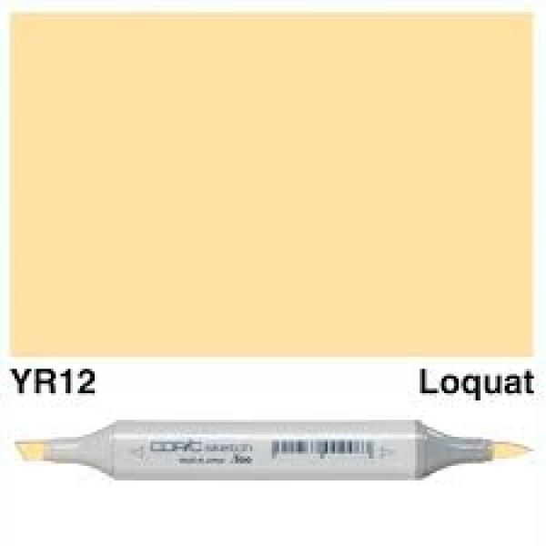 Alkohola bāzes marķieris Copic Sketch- YR12