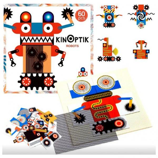 Djeco ''Kinoptika'' Roboti 60 gab.
