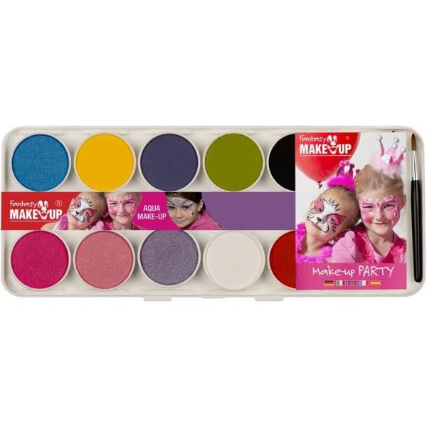 Fantasy MakeUp ķermeņa/sejas krāsu komplekts GIRLS, 10 krāsas