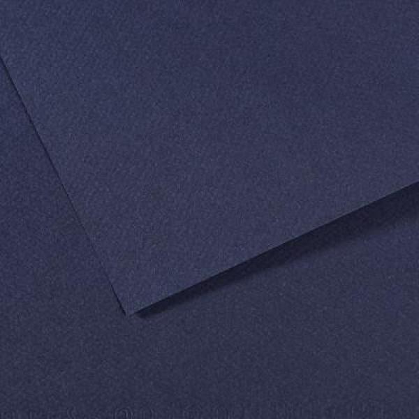 Pasteļpapīrs MT Canson A4, 140 indigo blue